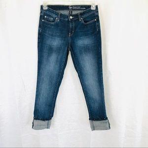 GAP Straight Cuff Crop Jeans 4/27